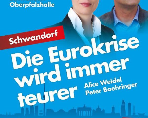 Alice Weidel Peter Boehringer AfD