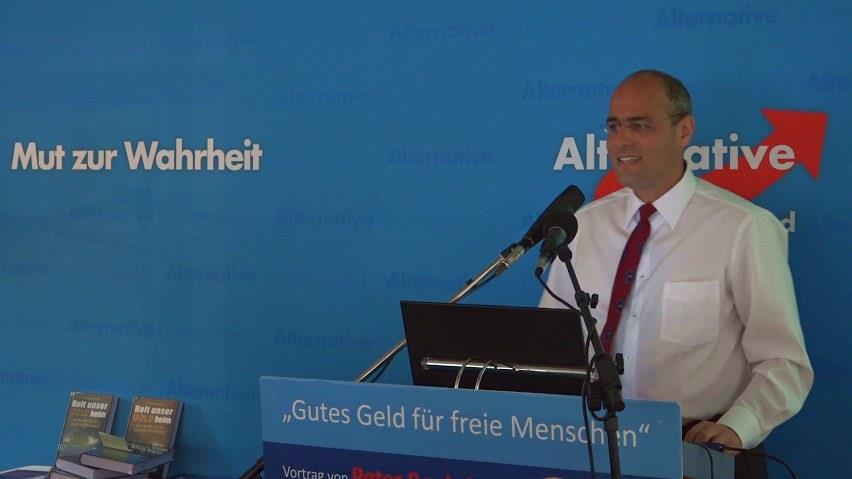 Vortrag für Gutes Geld von Peter Boehringer