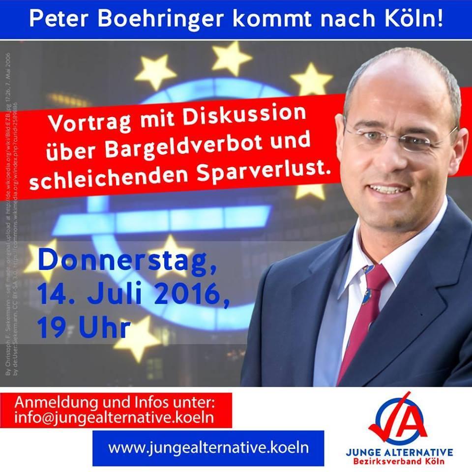 Bargeldverbot Vortrag Peter Boehringer