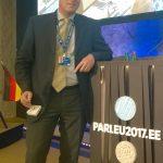 Peter Boehringer auf der SECG