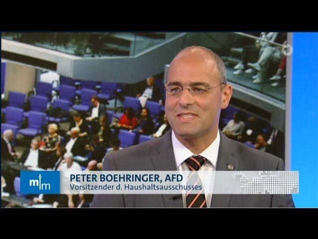 Boehringer in der ARD zum Haushalt 2019