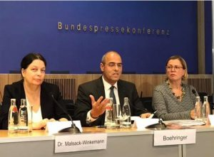 Vorstellung Bundeshaushalt 2019 durch Peter Boehringer auf BPK