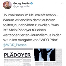 Georg Restle zu Journalismus 2018