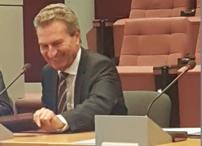 EU-Kommisssar G. Oettinger