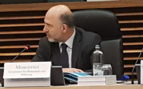 Herr Moscovici in Brüssel