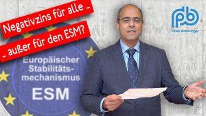 Kritik an ESM-Anlagerichtlinien