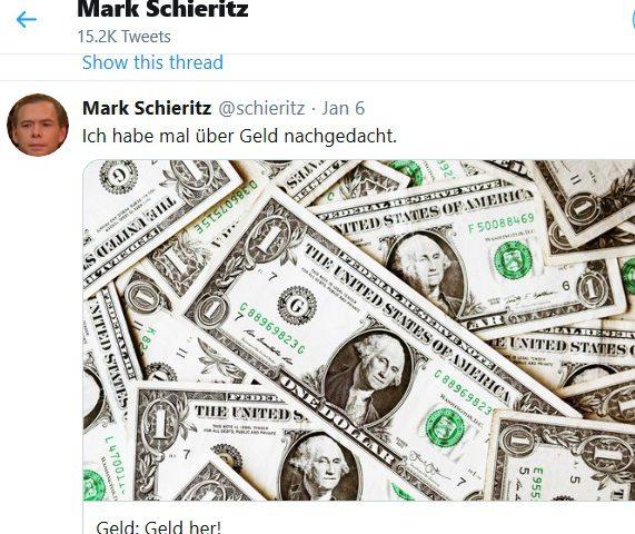 Geldsorgen wegdrucken?