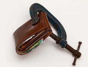 Bundeshaushalt kommt in Schieflage
