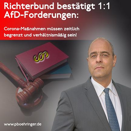 RICHTERBUND GIBT AfD RECHT!