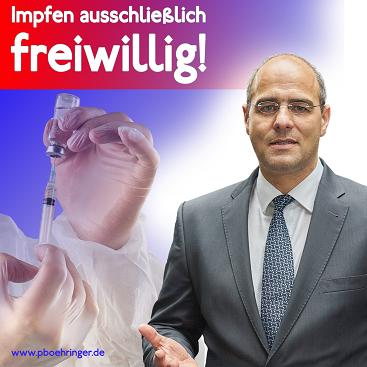 Peter Boehringer zu Impfen