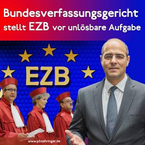 Unlösbare Aufgabe für die EZB