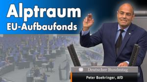 Bundestagsrede zum geplanten Aufbaufonds der EU