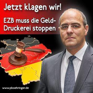 AfD-Klage gegen EZB-Gelddruckerei