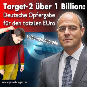 Target2 bereits über 1 Bio. Euro