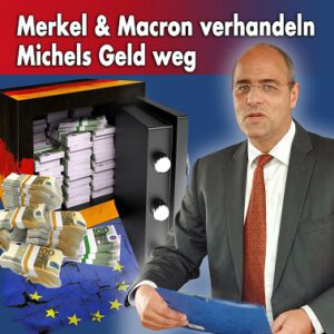 Merkel verhandelt Michels Geld weg
