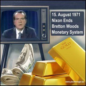 50 Jahre Ende von Bretton Woods